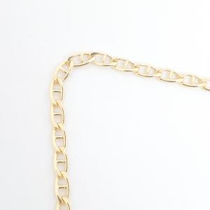 Lant barbatesc placat cu aur 50 cm Netto0