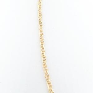Lantisor impletit placat cu aur 45-50 cm Envy1