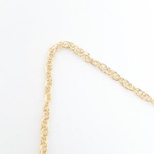 Lantisor impletit placat cu aur 45-50 cm Envy2