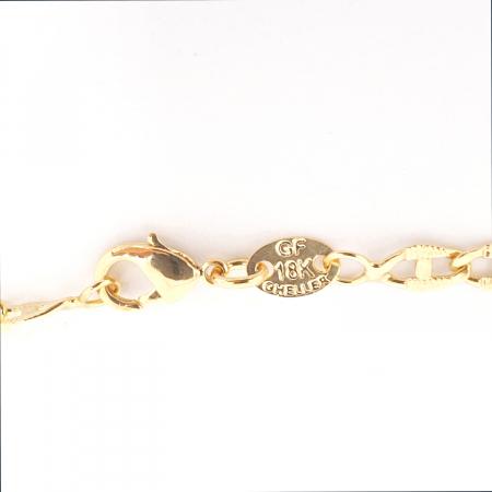Lant placat cu aur 50 cm History [4]