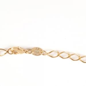 Lant barbatesc 50 cm placat cu aur Morgan2