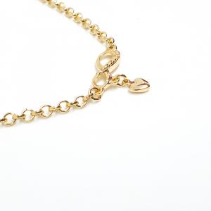 Lant tip colan placat cu aur Infinite Love3