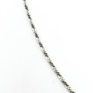 Lantisor 45 cm din argint impletit cu rodiu Ice Ice Baby1