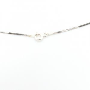 Lantisor 45 cm din argint impletit cu rodiu N-Joy3