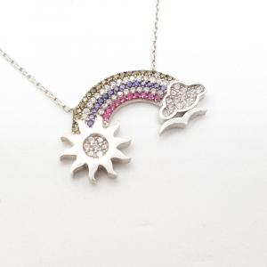 Colier din argint Rainbow2