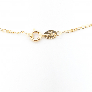 Lantisor placat cu aur 44-50 cm Hello2