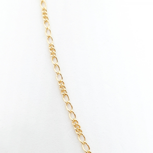 Lantisor placat cu aur 44-50 cm Hello1
