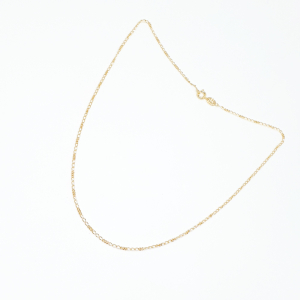 Lantisor placat cu aur 44-50 cm Hello3