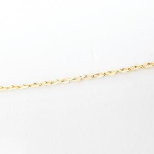 Colier placat cu aur 52 cm Cupidon3