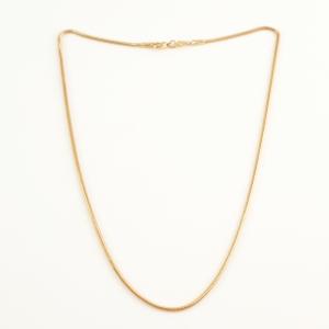 Lantisor 44 cm placat cu aur Alycia1