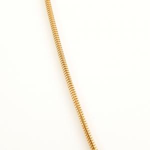 Lantisor 44 cm placat cu aur Alycia0