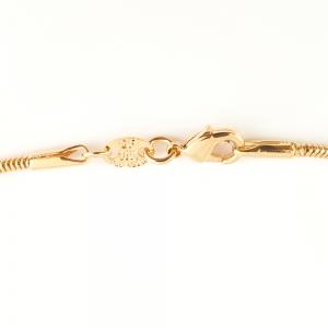 Lantisor 44 cm placat cu aur Alycia2