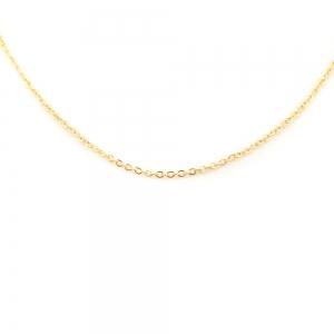 Lantisor 45 cm placat cu aur Carol1