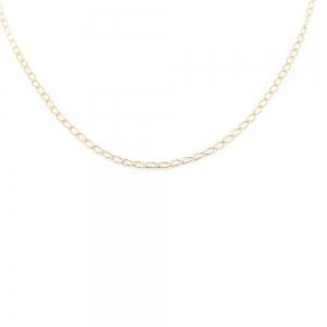 Lantisor 50 cm placat cu aur Jamie1