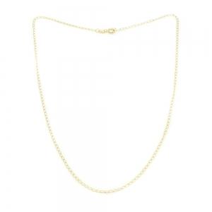 Lantisor 50 cm placat cu aur Jamie0