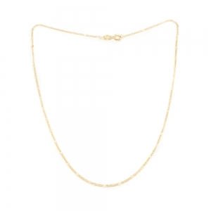 Lantisor 44 cm placat cu aur Kim0