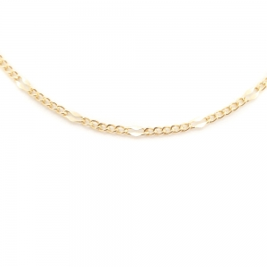 Lantisor 44 cm placat cu aur Kim4