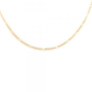 Lantisor 44 cm placat cu aur Kim1