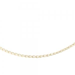 Lantisor 40 cm placat cu aur Lee1