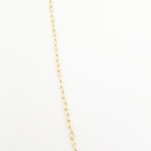 Lantisor 40-50 cm placat cu aur Mattie1