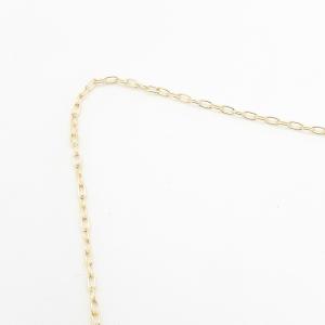 Lantisor 40-50 cm placat cu aur Mattie2