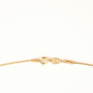 Lantisor tip sarpe placat cu aur 46 cm Roxanna2
