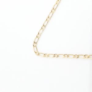 Lantisor si cruciulita placate cu aur Signature4