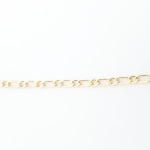 Lantisor si cruciulita placate cu aur Signature5