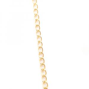 Lantisor si iconita placate cu aur Evya4
