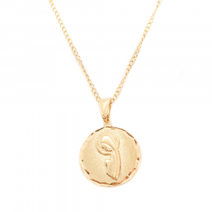 Lantisor si iconita placate cu aur Evya0