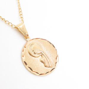 Lantisor si iconita placate cu aur Evya2