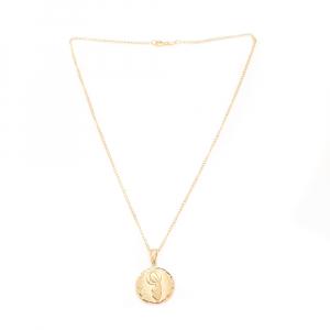 Lantisor si iconita placate cu aur Evya3