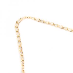 Lantisor si cruciulita placate cu aur Gravity5