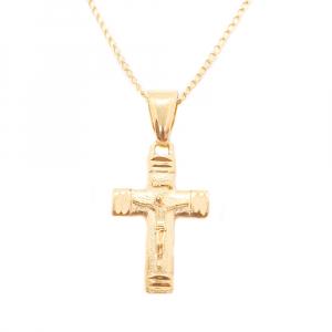 Lantisor si cruciulita placate cu aur Basileus0