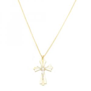 Lantisor si cruciulita placate cu aur Castiel1
