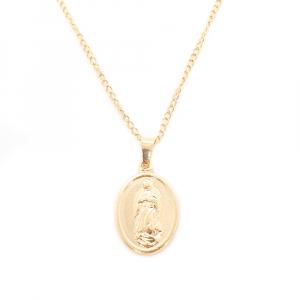 Lantisor si iconita placate cu aur Aeros0