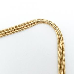 Lantisor triplu placat cu aur Ester4