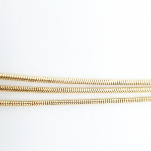 Lantisor triplu placat cu aur Ester3