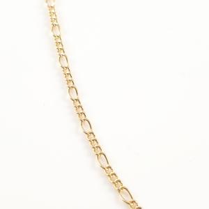 Lantisor 44-50 cm placat cu aur Avery1