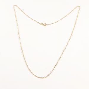 Lantisor 44-50 cm placat cu aur Avery0