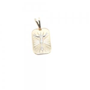 Medalion placat cu aur Cinna0