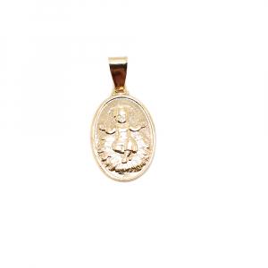 Medalion placat cu aur Ikon0