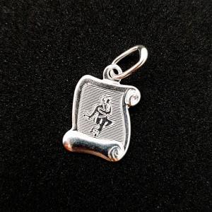 Pandantiv din argint cu zodia Fecioara [0]
