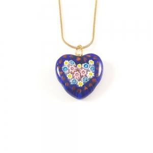 Colier Love din sticla de Murano2