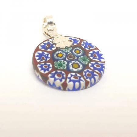 Pandantiv din sticla de Murano cu montura din argint Venezzia [1]