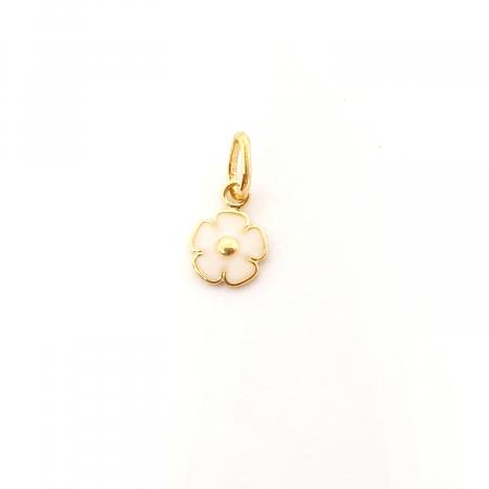 Pandantiv-floare placat cu aur Miss Co [0]