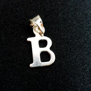 Pandantiv Litera B din argint0