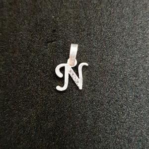 Pandantiv Litera N din argint0