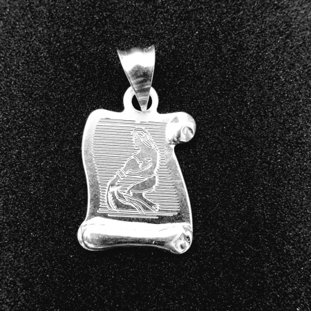 Pandantiv din argint cu zodia Varsator [0]