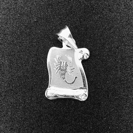 Pandantiv din argint cu zodia Scorpion [0]